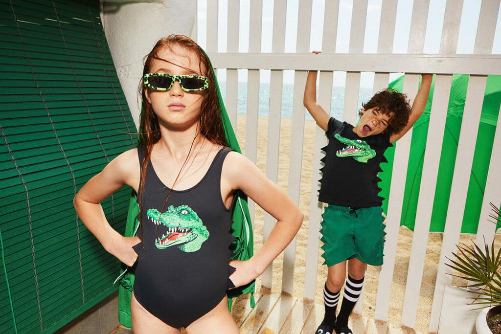 Boys and girls Dinowear for summer 2020 fun at Yporque