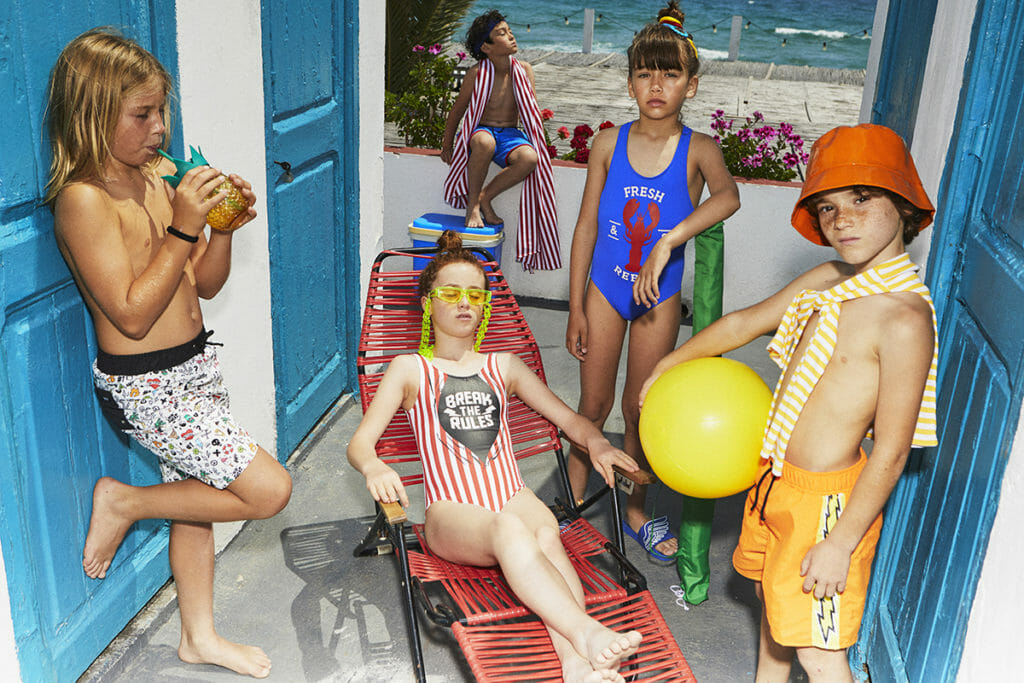 Summer swim kids fashion trends from Yporque SS20