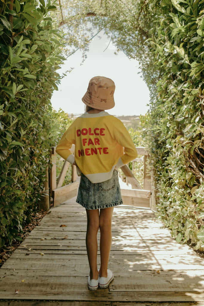 Dolce far Niente - the art of doing nothing by Tiny Cottons SS20