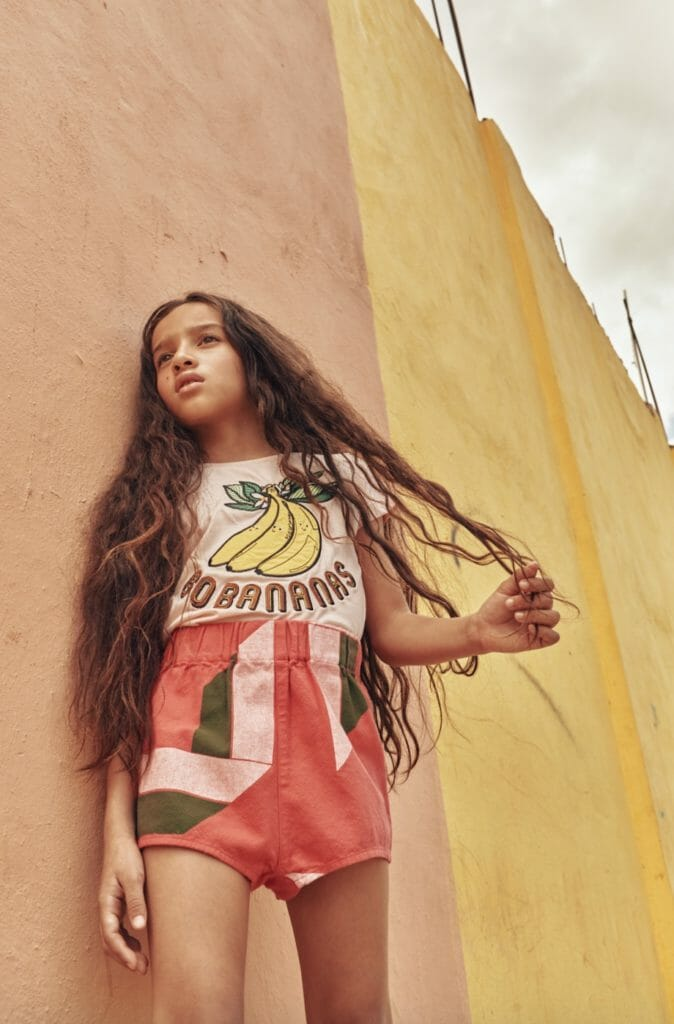 Kids fashion Soul Rebel style shoot in the Dominican Republic by Abi Campbell, top Molo, shorts The Animals Observatory @alexandalexa