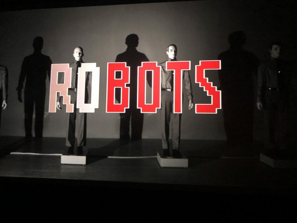 We are the Robots, Kraftwerk 3D concert film at The Design Museum