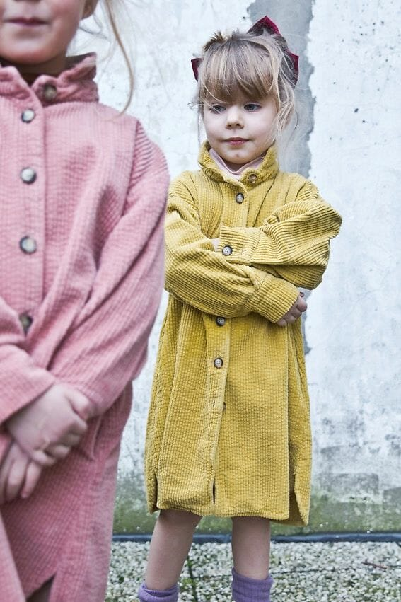 Comfy chunky cord dresses for 'The New Normal' winter months at Morley