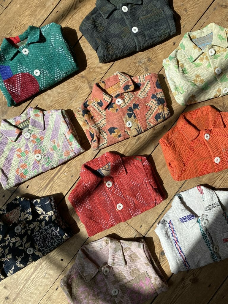 Each kids quilted jacket at Chapter is unique