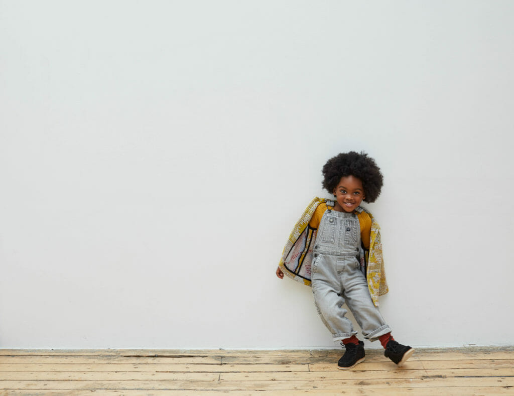 Sustainable kidswear made with vintage textiles at Chapter