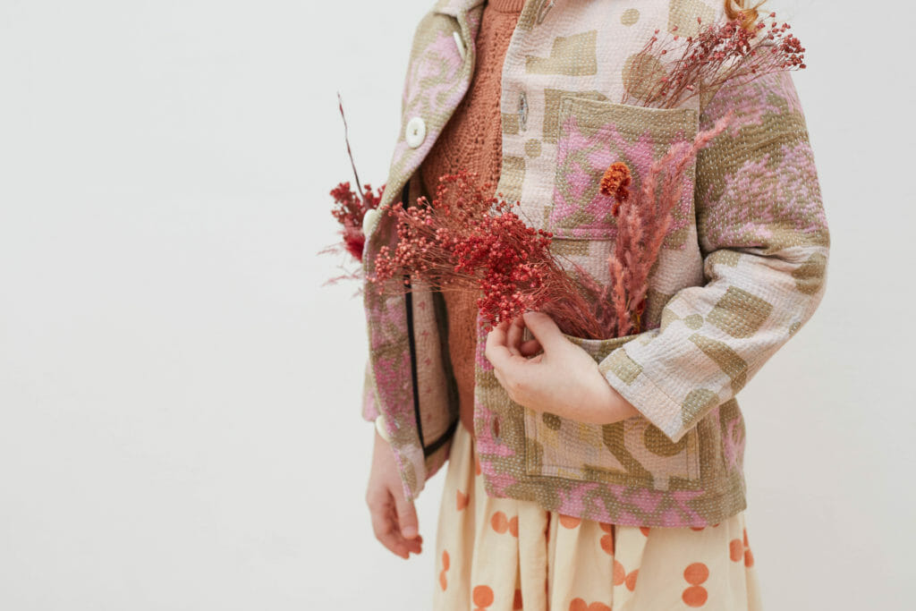 Fine quilted stitched jackets for childrens fashion FW20