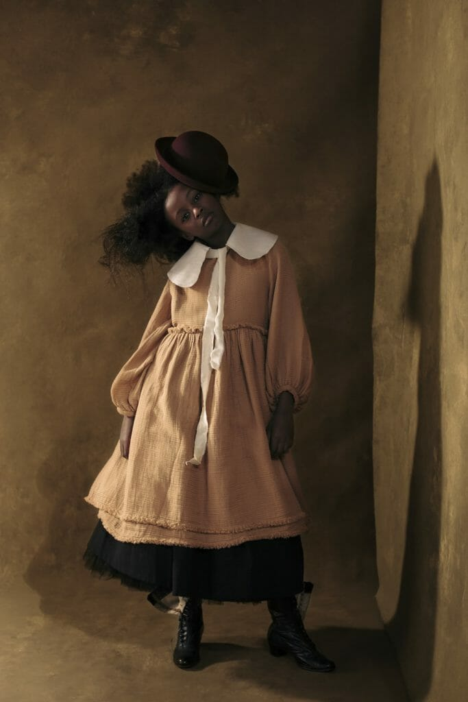 Little Creative Factory's signature slow fashion look