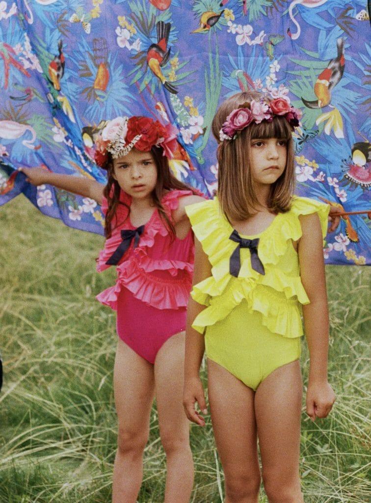 The Rendez-vous Digital kids fashion day three shows Raspberry Plum swimwear for SS 2021