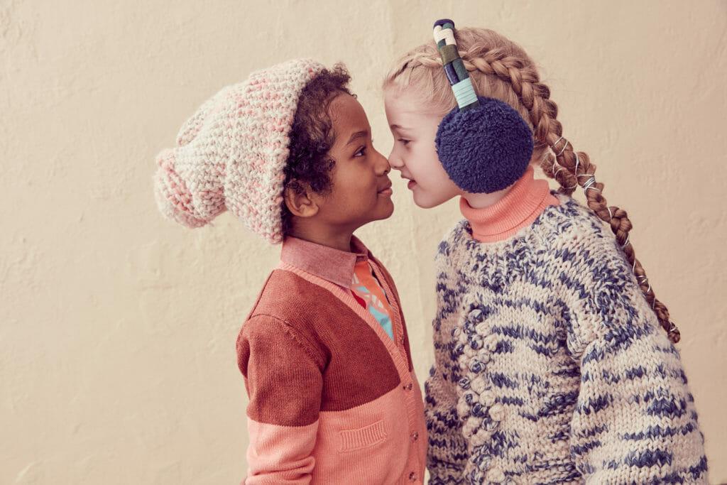 Chunky kids knitwear for winter 2020, it's coming soon!