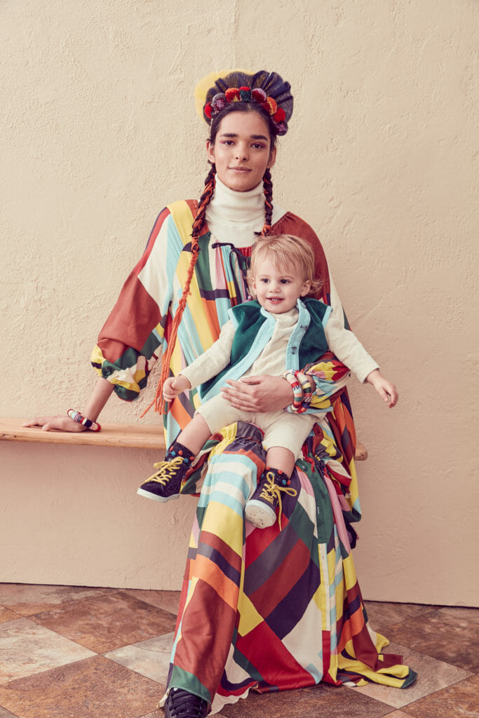 Love Tia Cibani's super cool matching Mommy styles for winter 2020