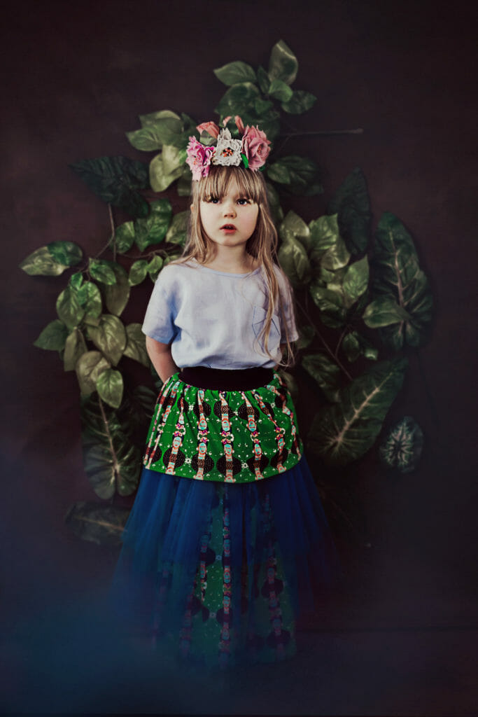 EFVVA beautiful Frida prints for Summer 2021 kids fashion
