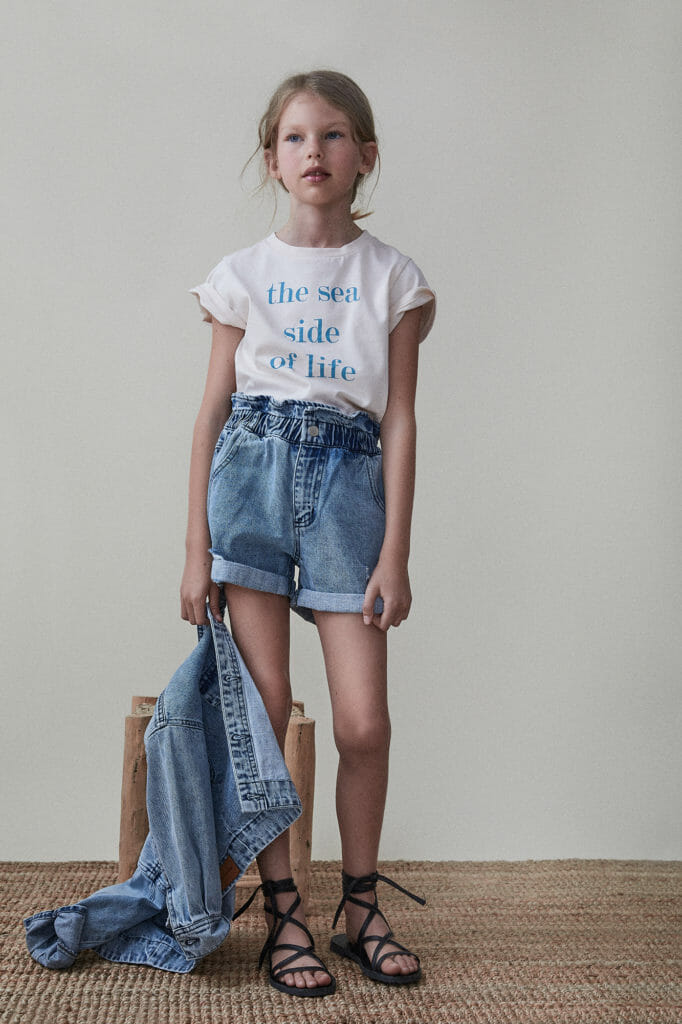 The Sea Side of Life, kids fashion for SS21 by The New Society