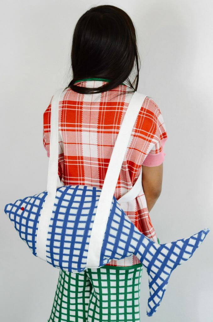 Specialist kids knitwear by Italian label Ligne Noir enfants for SS21