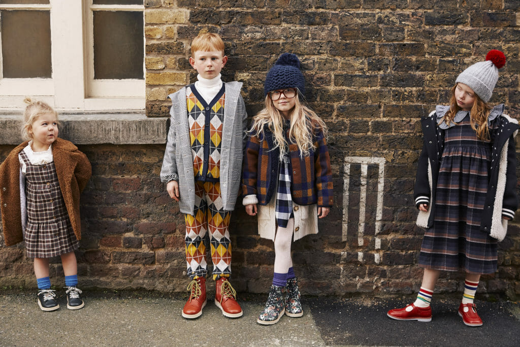 Retro school days inspired Young Soles kids footwear for AW2020
