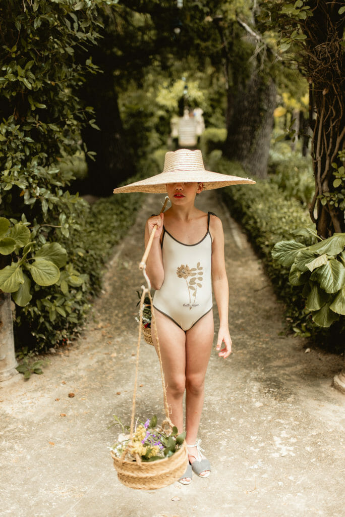 Nature inspired Bella Chiara for summer 2021 kids swimwear