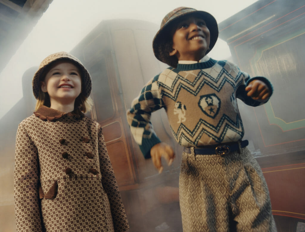 Shades of brown are a key trend for Fall 2020 kids fashion