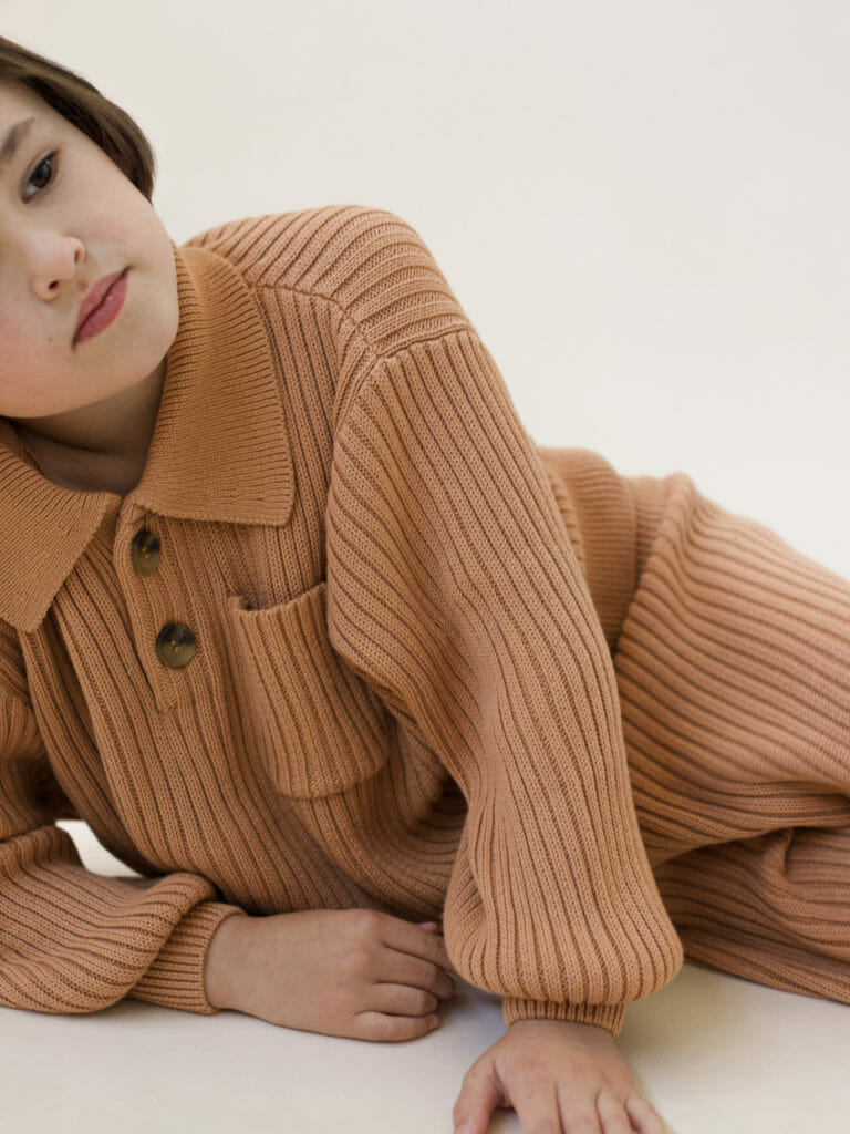 Sustainable and made to be passed on, Sunna Studios kids knitwear