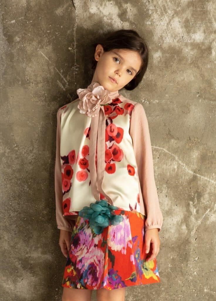 Beautiful prints for Senorita Lemoniez SS21 kids fashion