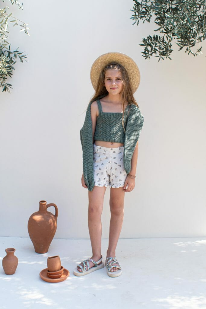 Kokori beautiful cotton knits for childrens fashion SS21