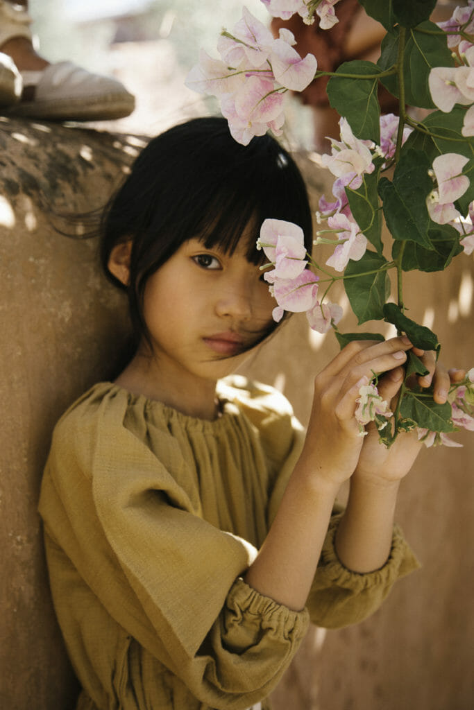 Inspired by the bloom of spring in Portugal Liilu organic kids fashion for SS21