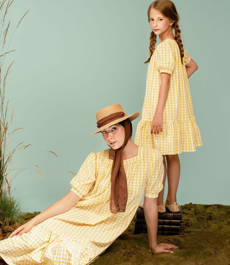 Mommy and me looks from Atelier Parsemi for Ss21