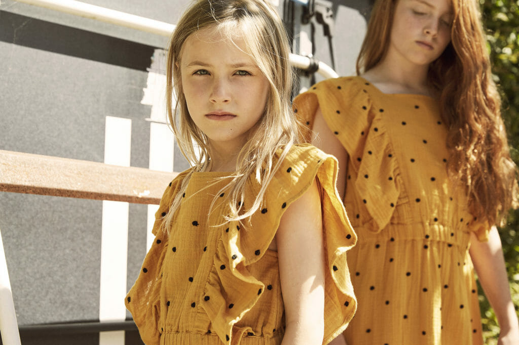 Scandinavian style at A Monday in Copenhagen for summer 2021 kidswear