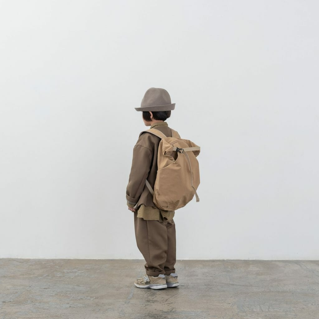 Own brand backpacks are also available at Moun-Ten from Japan