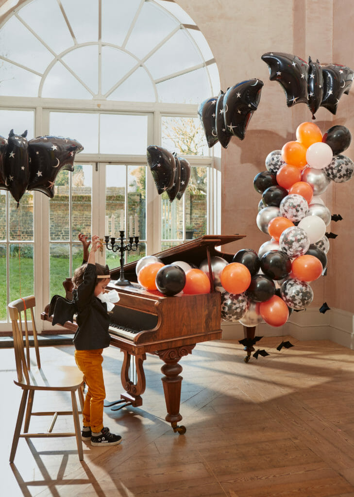 Of course if you have the room let the rip with the balloon exploding piano!