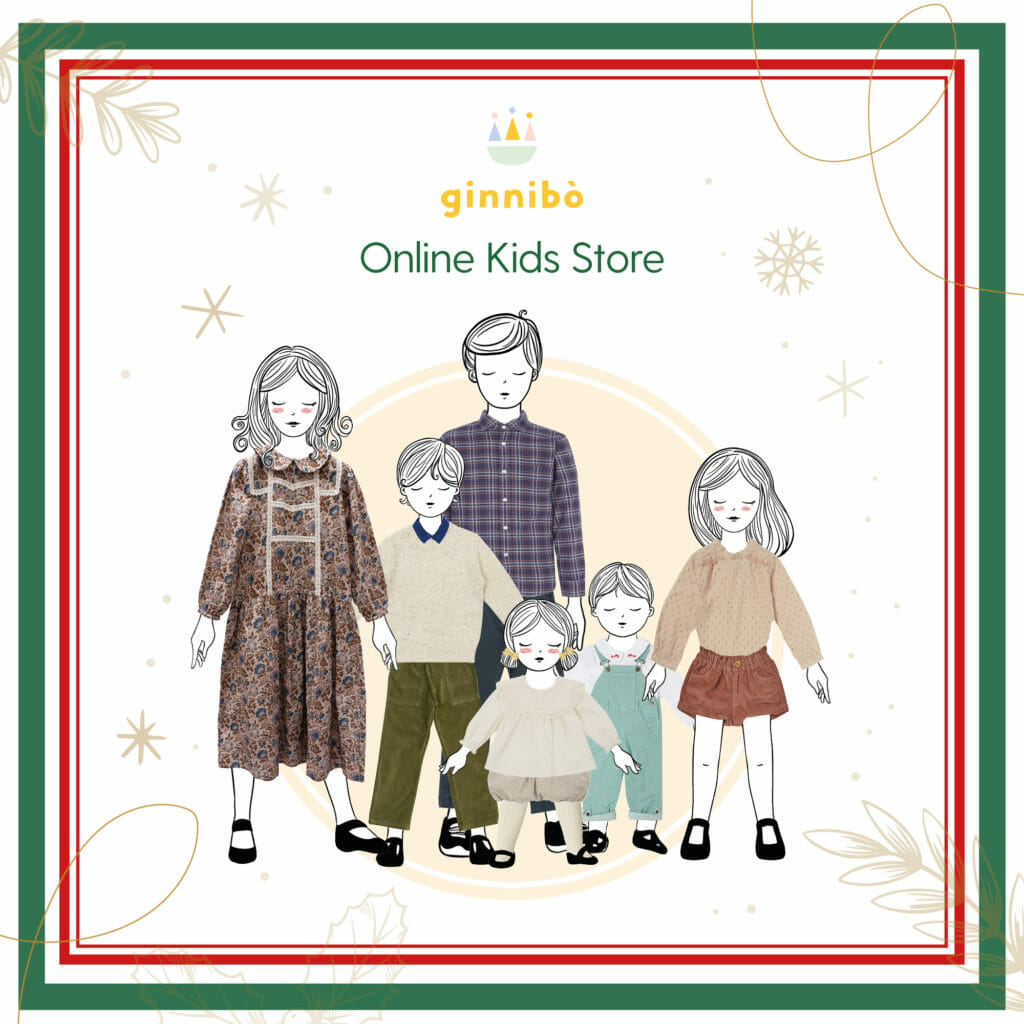 Kids fashion round up from The Rendez-vous Winter Wonderland featured Ginnibo store from Italy