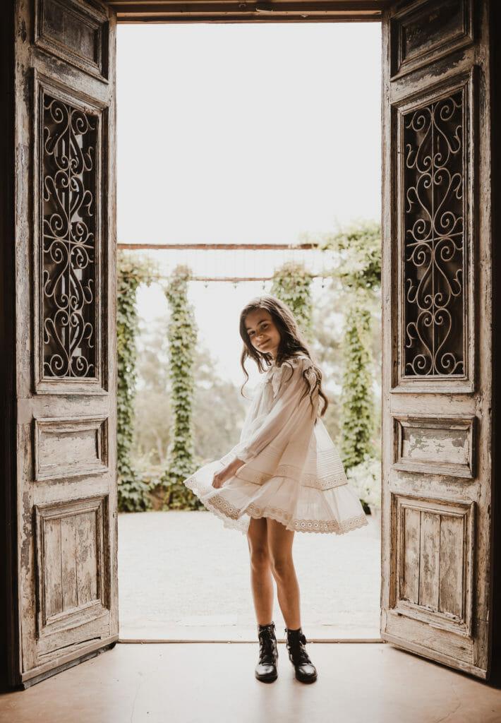 Petite Amalie's romantic retro style fr kids fashion FW20