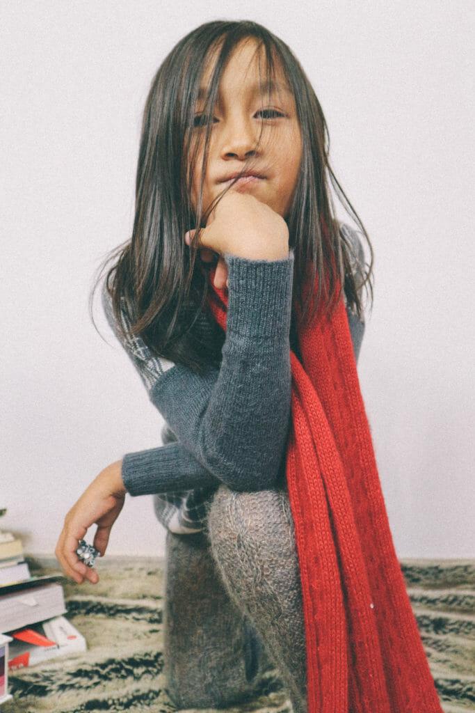 Ligne Noire beautiful Italian kids knitwear for winter 2020
