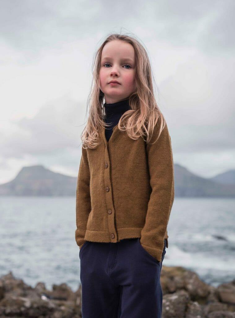 Minimalisma organic knitwear inspired by The Faroe Islands landscape
