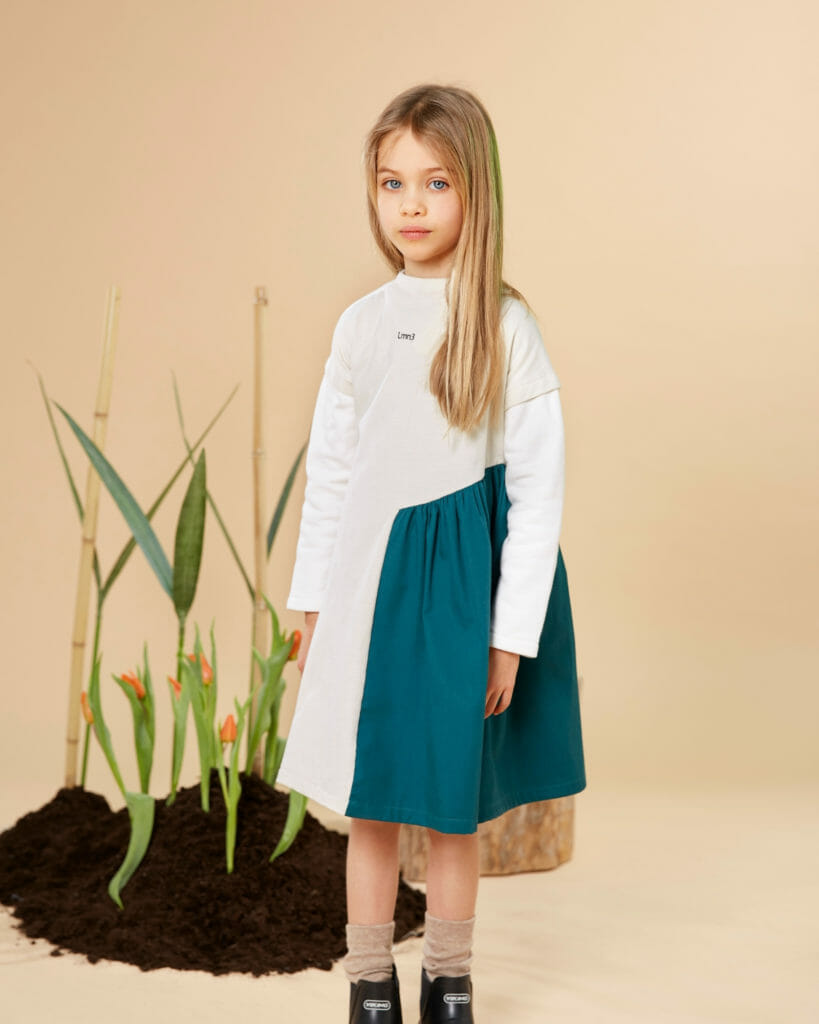 LMNthree sustainable and modern childrenswear for FW21