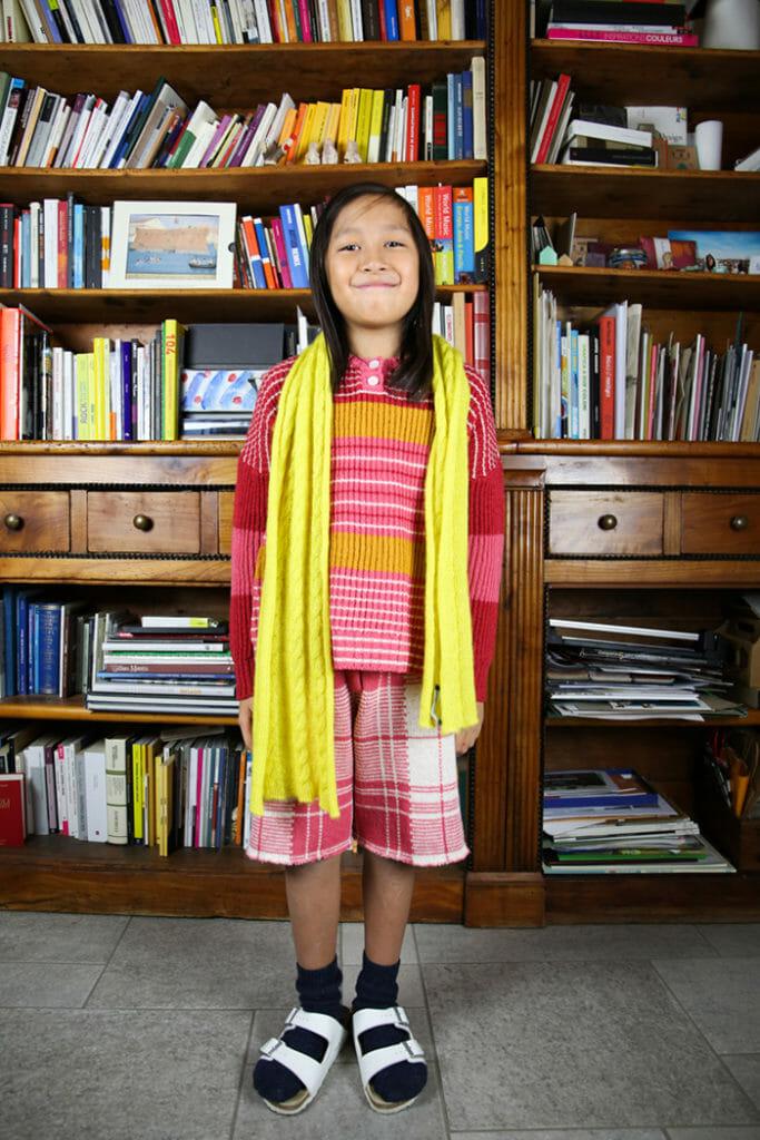 Lingnenoire Enfant luxury Italian made knitwear