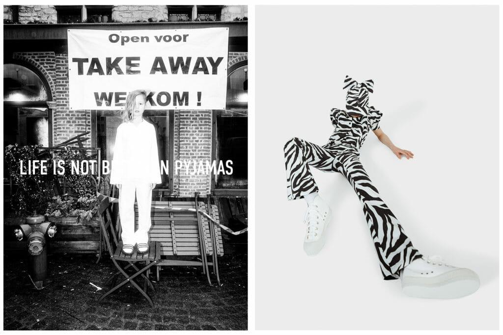 Wicked zebra stripes at CRLNBSNS for kids fashion SS21