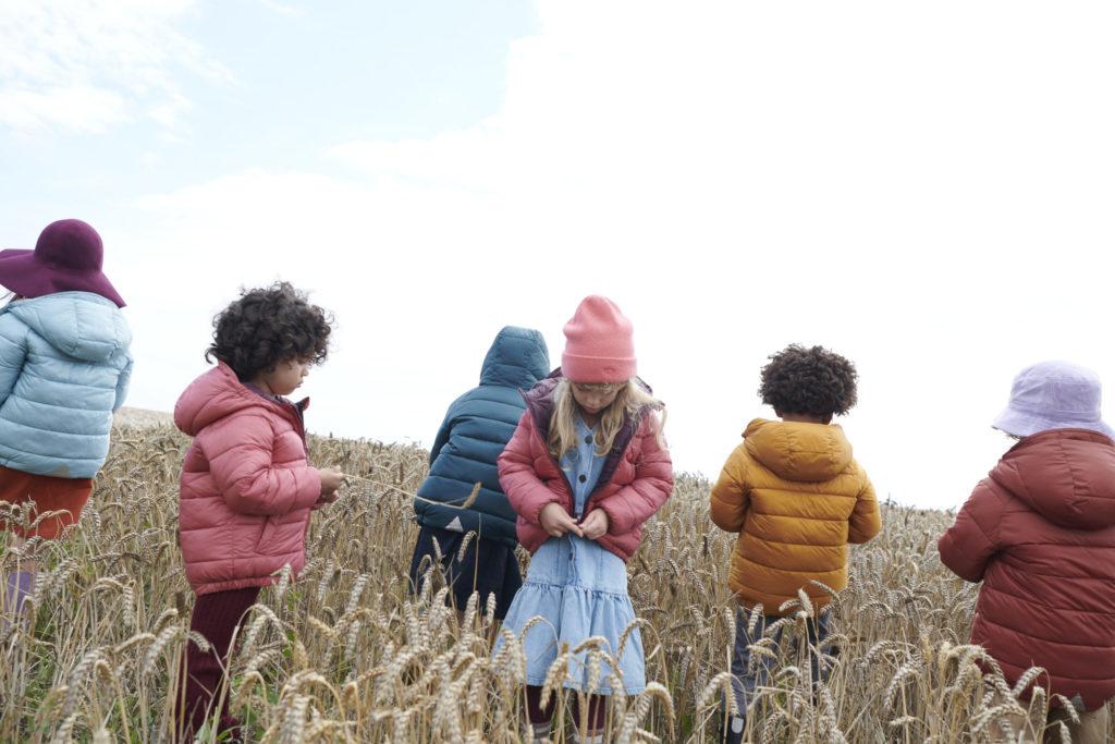Kids fashion outerwear by TÖASTIE for winter 2021