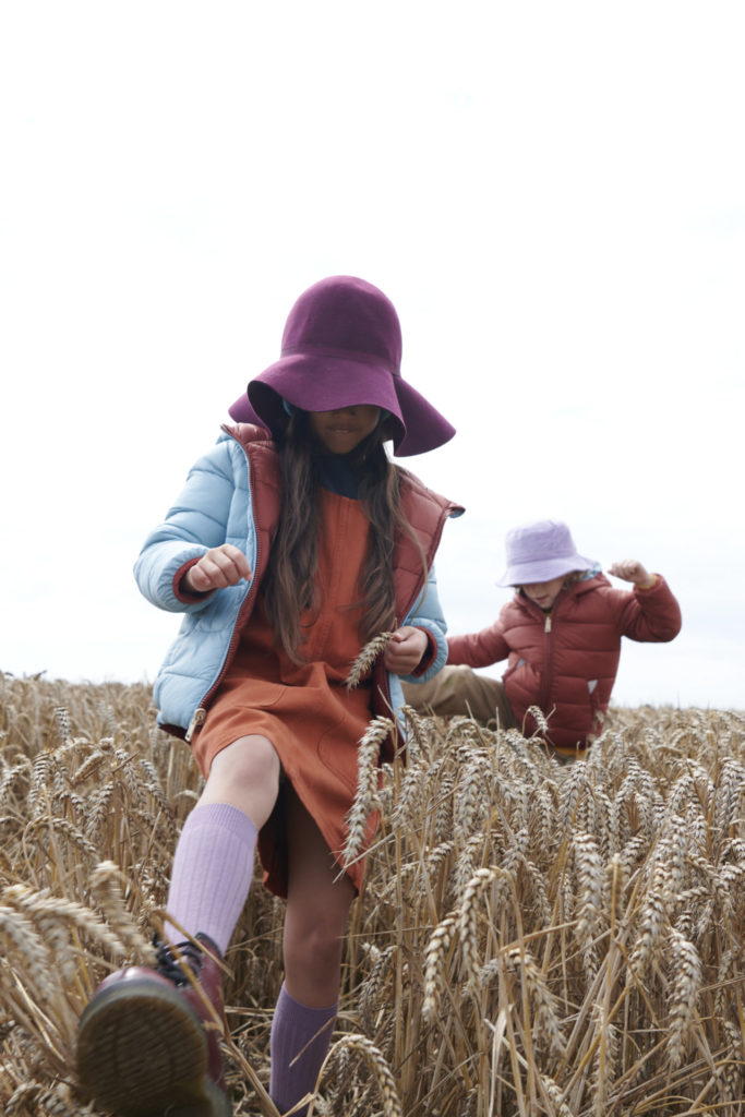 Cool colour combinations at Toastie for kids fashion outerwear