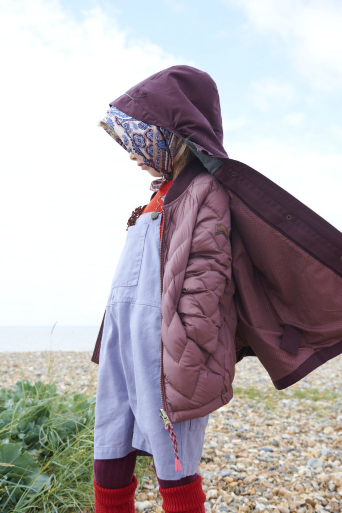 Double layering at Toastie for childrens outerwear AW21