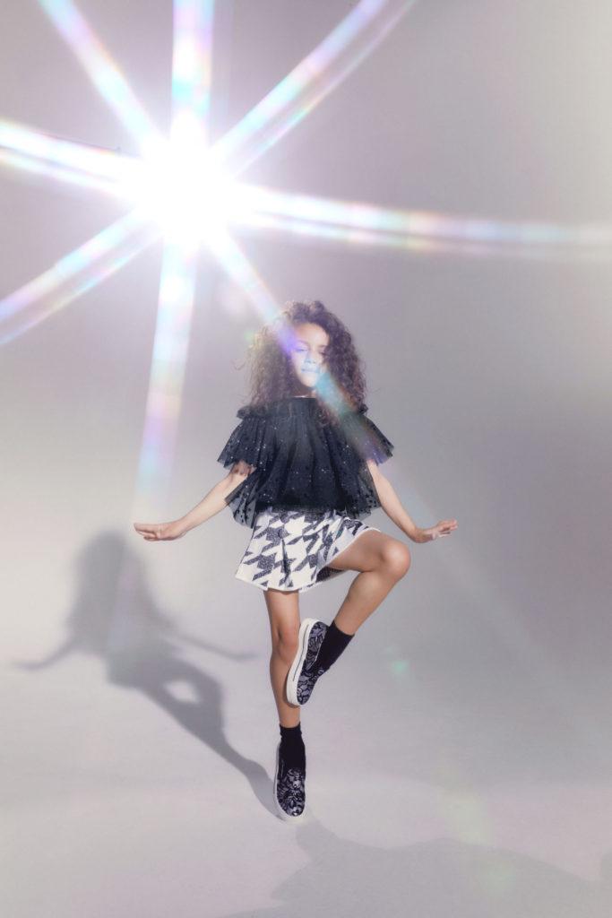 Star inspired kids fashion from Italian brand Simonetta for FW21